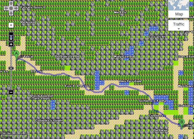 Dragon Warrior World Map Jstookeycom